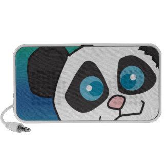cute panda bear face speakers