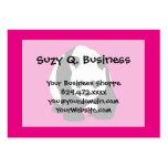 Cute Panda Bear Hot Pink Fuchsia Zoo Wildlife Gift Business Card