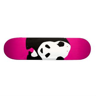 Cute Panda Bear Hot Pink Fuchsia Zoo Wildlife Gift Skateboard Deck