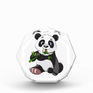 cute,panda bear,kids,animated,happy, eating bamboo award