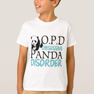 Cute Panda Bear Kids T-Shirt