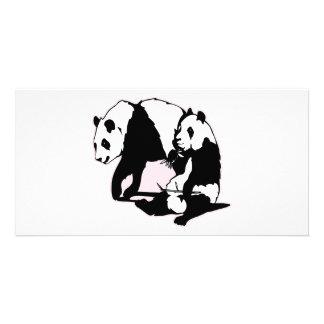 Cute Panda Bears Card