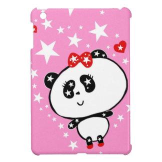 Cute Panda Bears Funny Personalized iPad Mini Cover