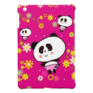 Cute Panda Bears Girly Gifts Kawaii Customizable iPad Mini Case