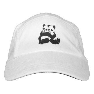 Cute Panda Bears Headsweats Hat