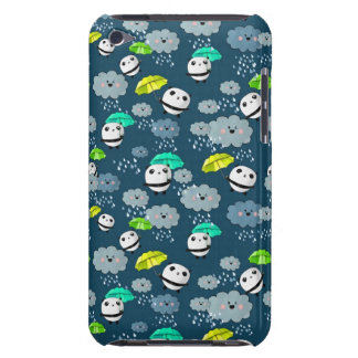 Cute Panda Bears Pattern Barely There iPod Cover