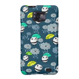 Cute Panda Bears Pattern Galaxy SII Case