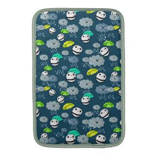 Cute Panda Bears Pattern MacBook Air Sleeves