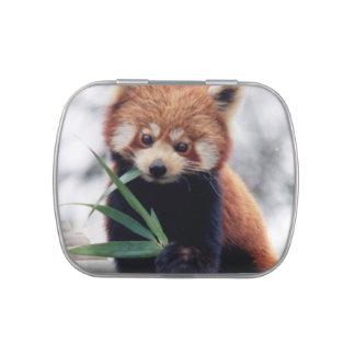 Cute Panda Bears Peace Love Party Destiny Digital Candy Tins