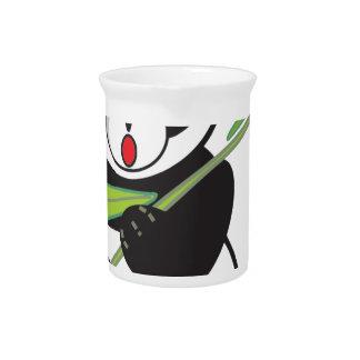 Cute Panda Beverage Pitcher