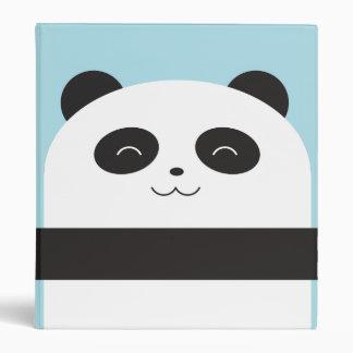 Cute Panda Binder