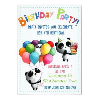 Panda Invitations & Announcements | Zazzle
