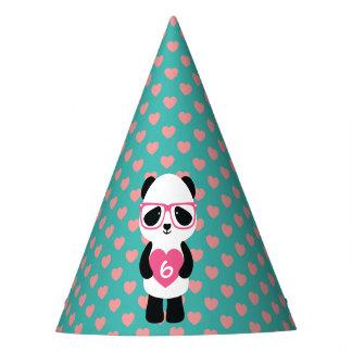 Cute Panda Birthday Party Hat
