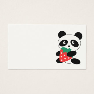 Cute Panda Business Card