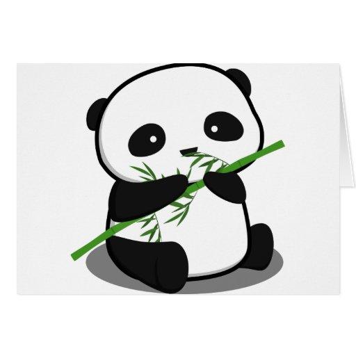 Cute Panda Card