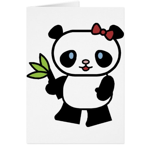 Cute Panda Cards