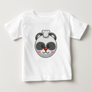 Cute Panda Character Customizable Baby Baby T-Shirt