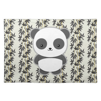 Cute Panda Cloth Placemat