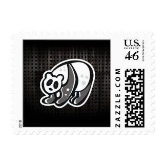 Cute Panda; Cool Postage Stamps