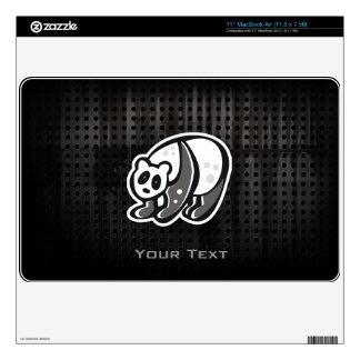 Cute Panda; Cool Decals For MacBook