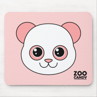 Cute Panda Cotton Candy Mouse Pad
