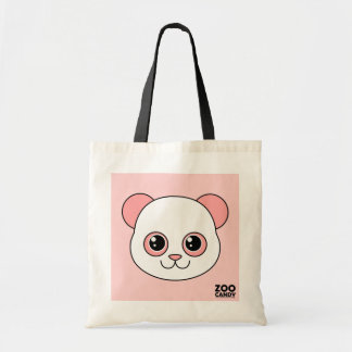 Cute Panda Cotton Candy Tote Bag