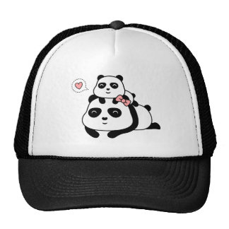 Cute Panda Cub Loves Mommy Hat
