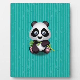 Cute Panda Cub Photo Plaques