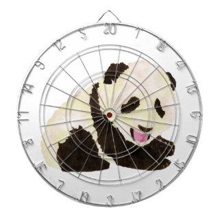 Cute Panda Dart Board