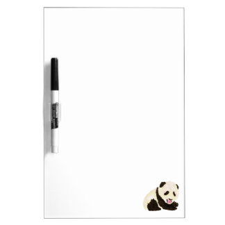 Cute Panda Dry-Erase Board
