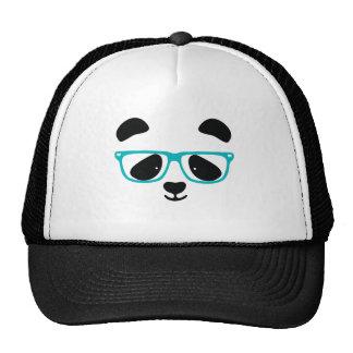 Cute Panda Face Aqua Trucker Hat