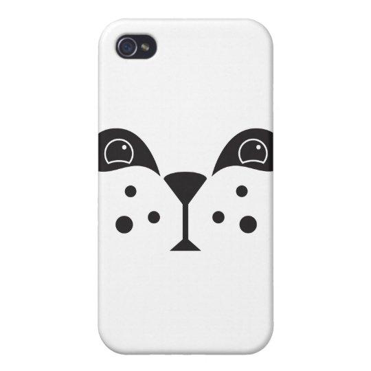 Cute Panda Face Case For iPhone 4