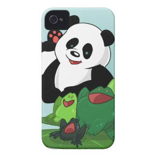 Cute Panda & Friends by REV.art Case-Mate iPhone 4 Case