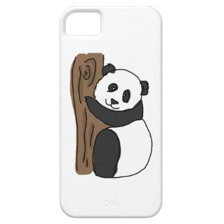 Cute Panda In A Tree, Digital Trawing iPhone 5 Covers