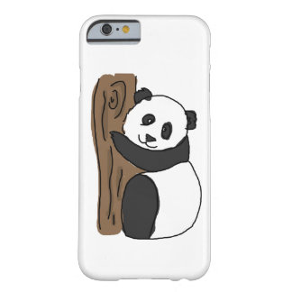 Cute Panda In A Tree, Digital Trawing Barely There iPhone 6 Case