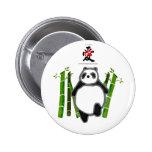 Cute panda ink drawing pins