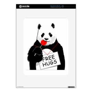 cute panda iPad skin