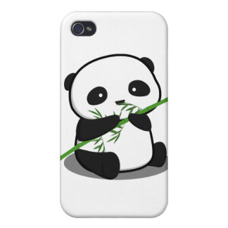 Cute Panda iPhone 4/4S Cases