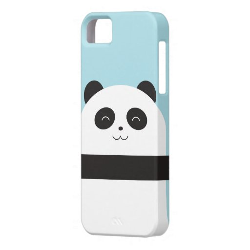 Cute Panda Iphone 5 Case