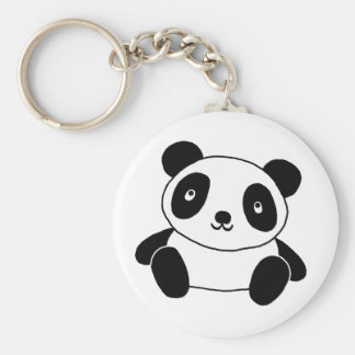 Cute Panda Keychain