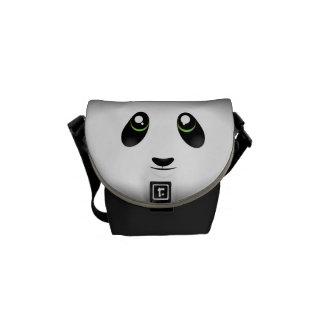 Cute Panda Messenger Bag
