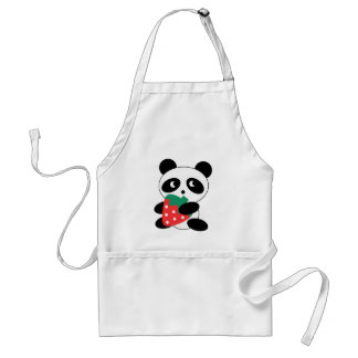 Cute Panda Party Pack Adult Apron