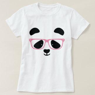 Cute Panda Pink Tee Shirts