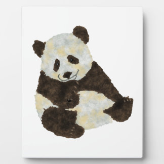 Cute Panda Plaque
