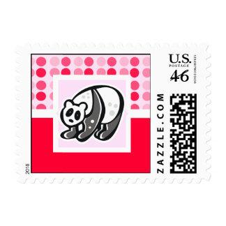 Cute Panda Stamp