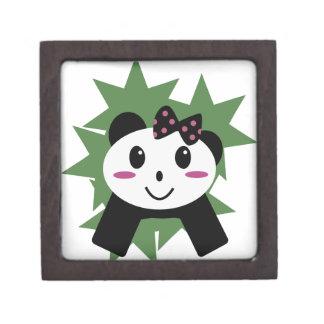 Cute panda premium trinket boxes
