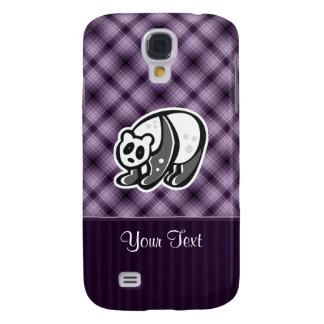 Cute Panda; Purple Samsung Galaxy S4 Cover