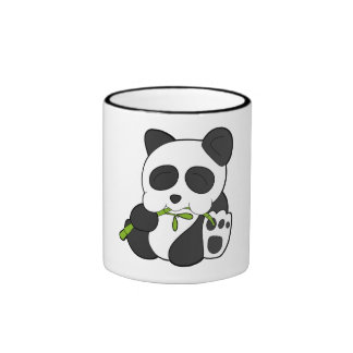 Cute Panda Ringer Mug
