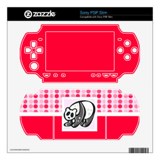 Cute Panda Decals For The PSP Slim