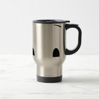 Cute panda spy travel mug